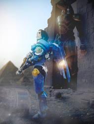 Overwatch Pharah by AntonioGN
