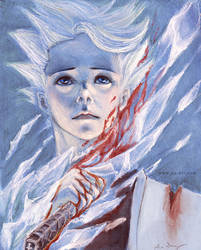 Blood Ice by look