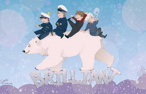 Bear, Polar by Sempaiko