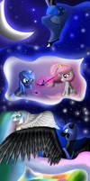 Luna and Celestia's Dream by Bronyontheway