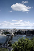 Danube, Chain Bridge, ... 2 by 2ga