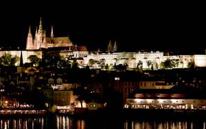 Prague at night by 2ga