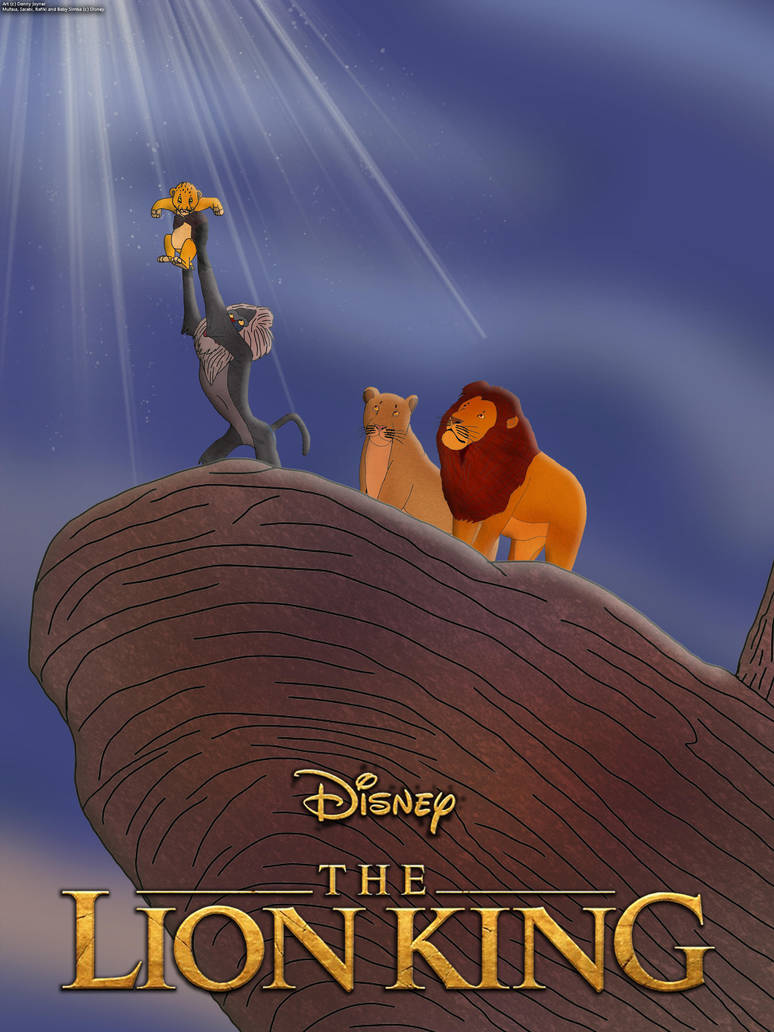 The Lion King 2019 Poster Simba S Presentation By Rdj1995 On