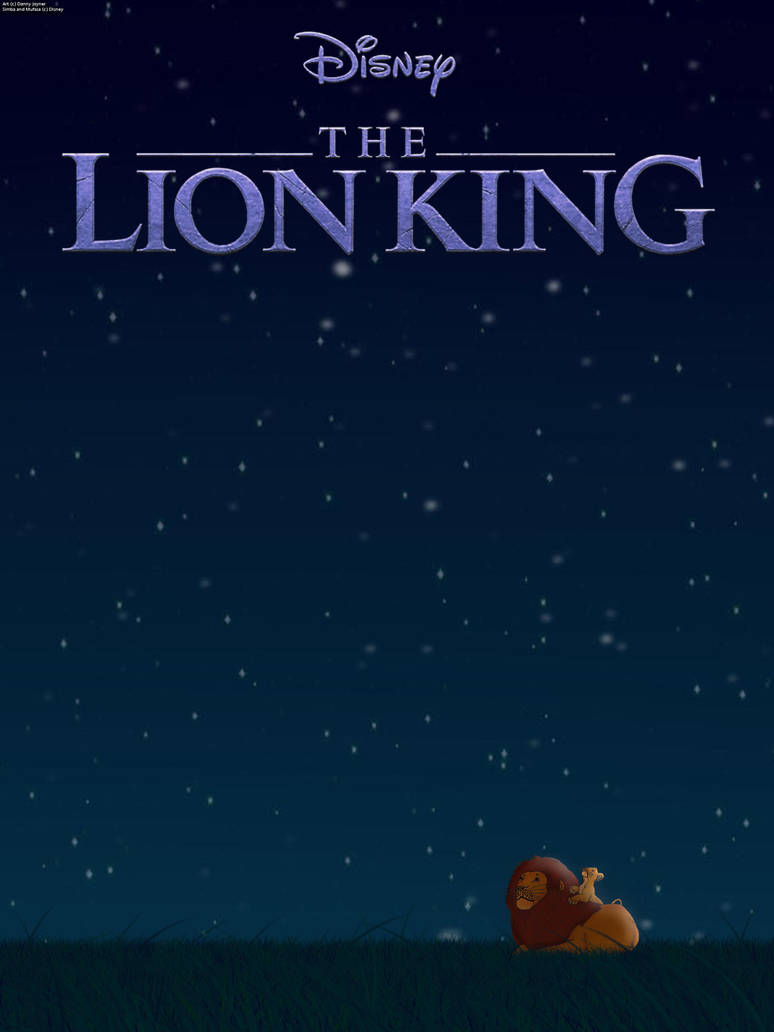 The Lion King 2019 Poster Looking At The Stars By Rdj1995 On