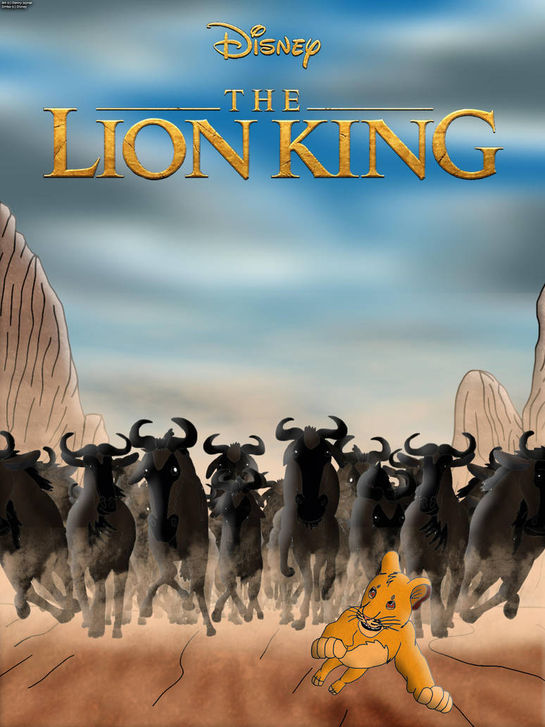 The Lion King 2019 Poster The Stampede By Rdj1995 On