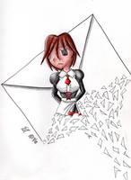 Shannon - Letter by Katsu14