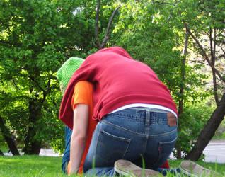 park boys get playful by yourlegsgrow
