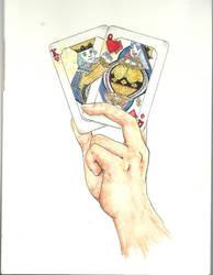 Love is a Card Trick by ShiOkami-chan
