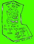 Patreon August reward doodle announcement by ThaumielNerub