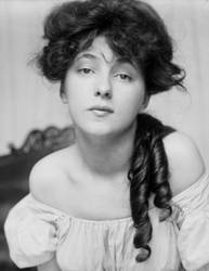 Evelyn Nesbit, c.1910 by Step-in-Time-Stock