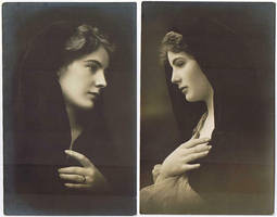 Postcards, c. 1900 by Step-in-Time-Stock