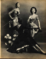 3 Women- 1955 by Step-in-Time-Stock
