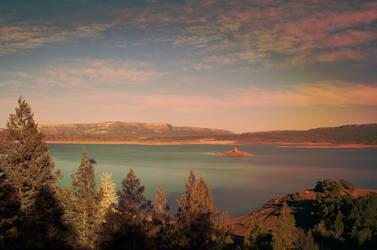 Heron Lake by rstrcogburn