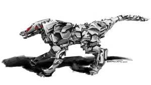 Mech Dog by ScagliettiArt