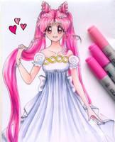 Princess Serenity Chibiusa by depressivebunny