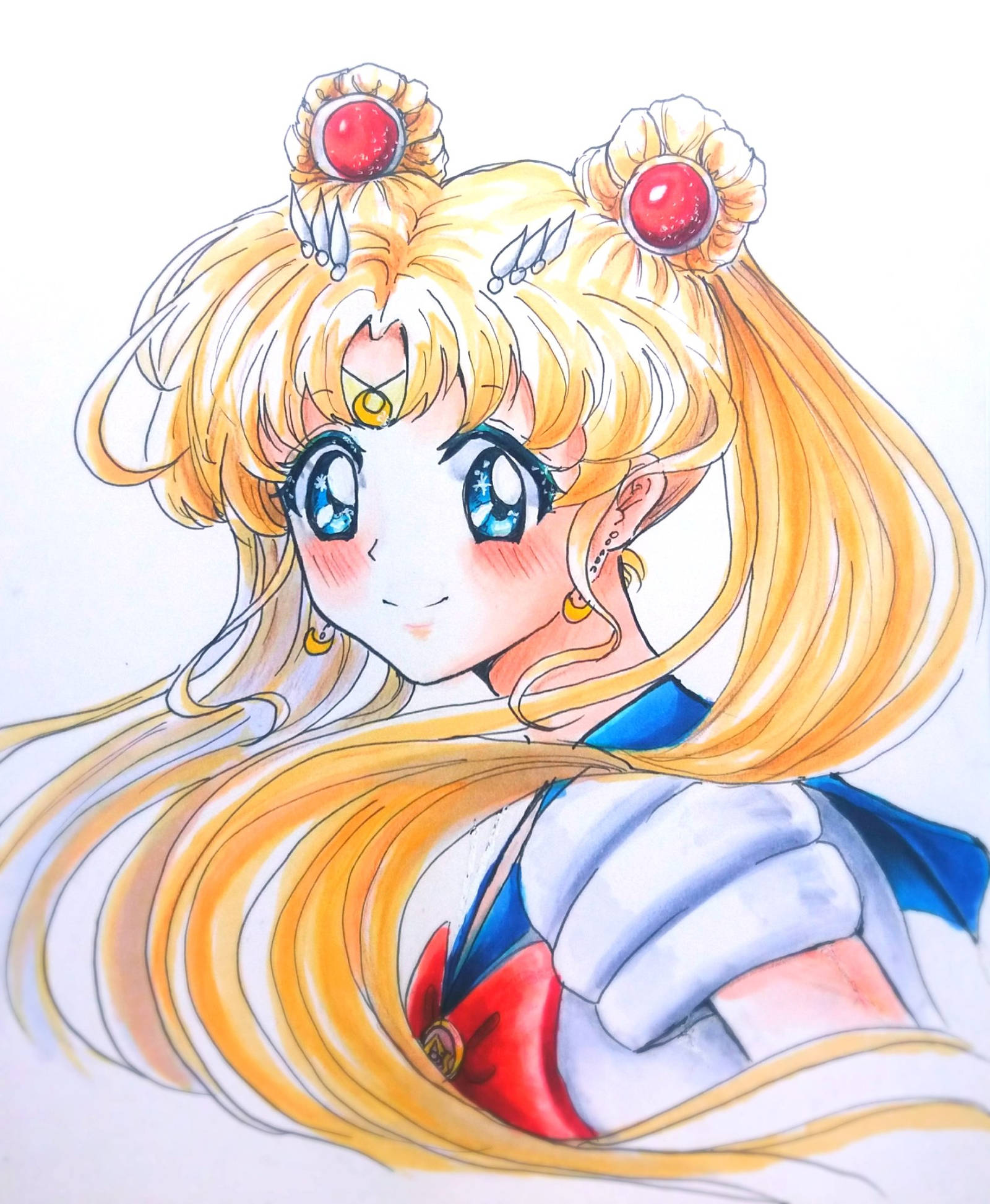 Sailor Moon By Depressivebunny On DeviantArt