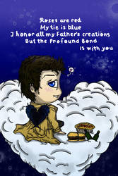 V-Day Card: Castiel by AuleD