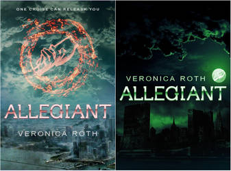 Allegiant (Divergent #3) 2 Fan-made Cover Versions by xGeorgexFx