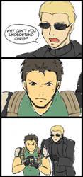 Resident Evil 5 Comic 1 by Kairi-Moon