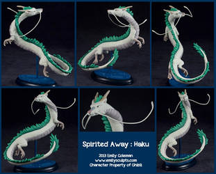 Commission : Haku by emilySculpts