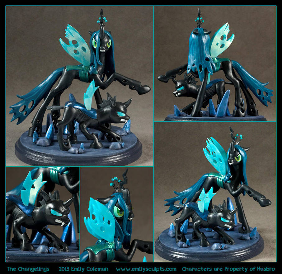 Commission : The Changelings by emilySculpts