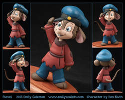 Commission : Fievel by emilySculpts