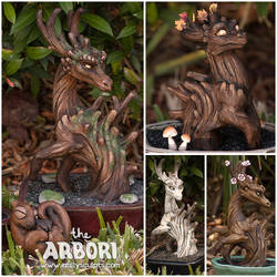 Deciduous Arbori Collection, Full Stock Available by emilySculpts