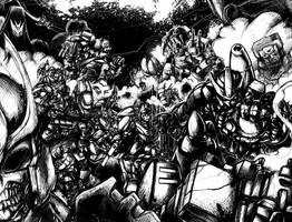Transformers Final Battle by kriksix