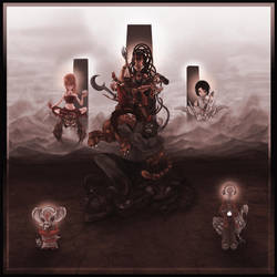 Durga Family by kriksix
