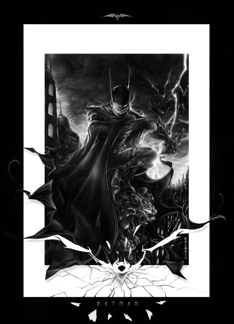 BATMAN! by kriksix
