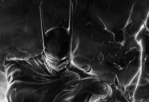 Batman Ox Detail by kriksix