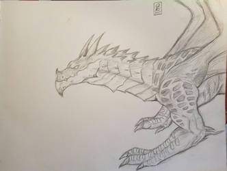 Thorignir Sketch by PDG-art