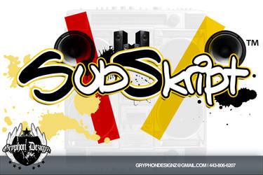 Subskript Logo by DarrienG1