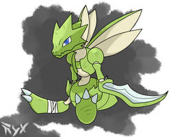 Scyther by chemicalbernes