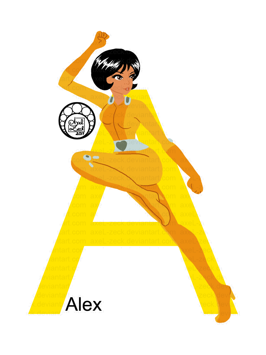 Day 1 - Alex by axeL-zeck