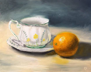 Orange Tea by justanothercreator