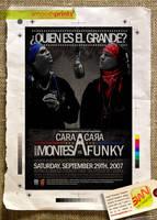Cara A Cara Tour 07 Flyer by angelaacevedo
