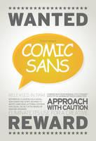 SchoolComp: Poster2-Comic Sans by angelaacevedo