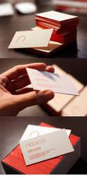Acevedo Business Card by angelaacevedo