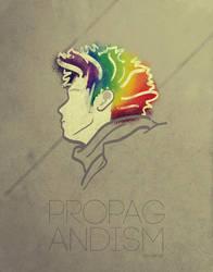 Poster: Propagandism by angelaacevedo