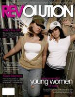 School Project: Magazine Cover by angelaacevedo