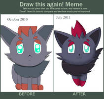 Before and After meme by CyanoDrake
