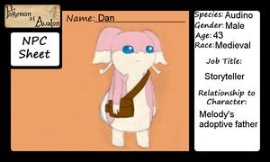 NPC App for Pokemon of Avalon: Dan by CyanoDrake