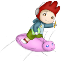 Giant Pink Ridable Roach by CyanoDrake