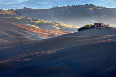 Farm on the Hill by Addran