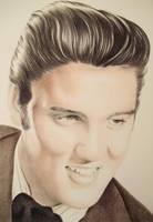 Elvis Presley by LianneC