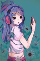 Art Trade: Misaki by k-a-g-i