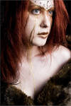 Artemis Wounded by fetishfaerie-model
