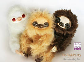 Sloth family by CustomLovers