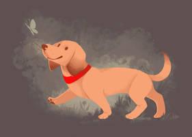 Happy Dog by hevromero
